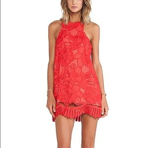 Lovers + friends caspian shift dress NWT